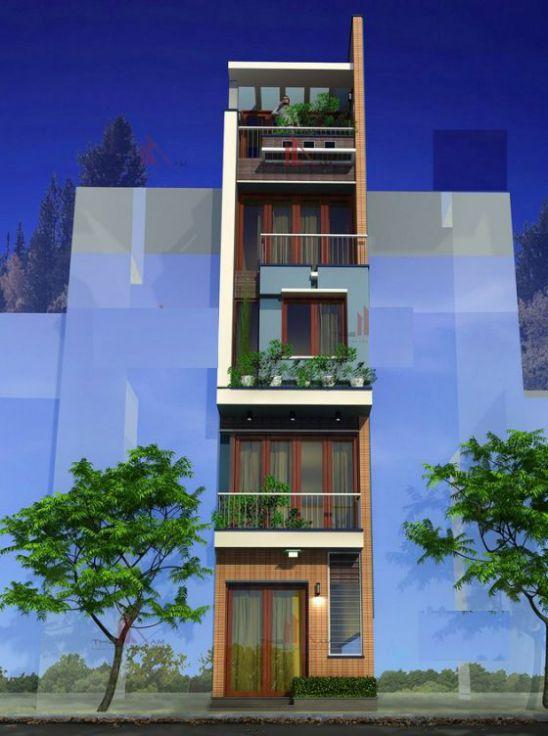 Mẫu nhà phố diện tích nhỏ, nhả 3 tầng sang trọng.