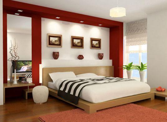 Phỏng thủy kê giường đối với phòng ngủ.