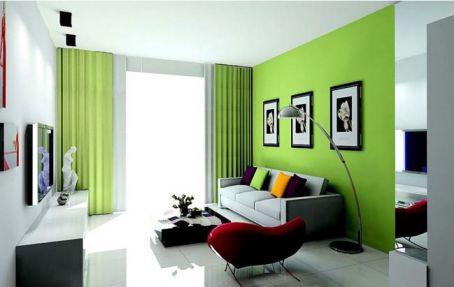 Gam màu nỗi tạo cho căn phòng thêm hiện đại hơn.