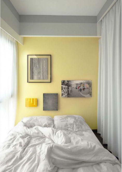 Thiết kế không gian nhỏ gọn bằng rèm vãi-->Phối cảnh 5