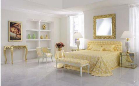 Phối cảnh cảnh 1 -> Mẫu phòng ngủ hiện đại, cao cấp.