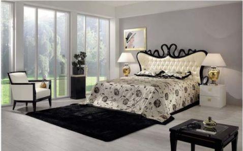 Phối cảnh cảnh 4 -> Mẫu phòng ngủ hiện đại, cao cấp.