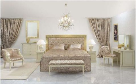 Phối cảnh cảnh 7 -> Mẫu phòng ngủ hiện đại, cao cấp.