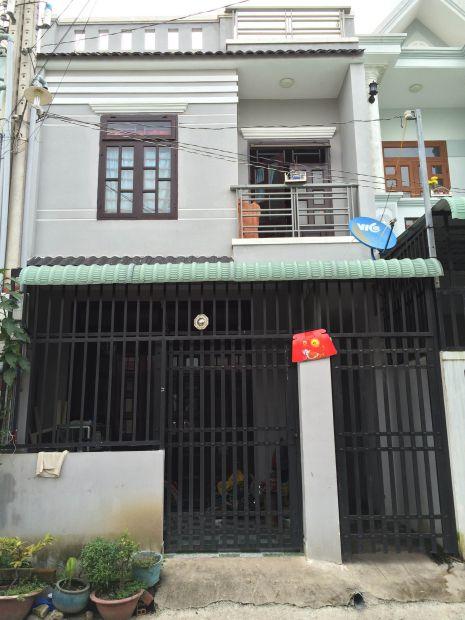 Căn nhà bán ở dĩ an.