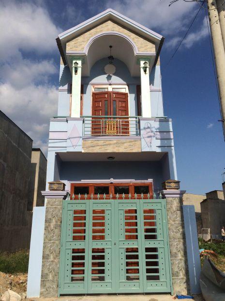 Thiết kế nhà đẹp ở dĩ an bình dương.
