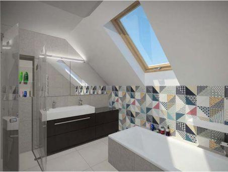 Phòng tắm trang bị thiết bị vệ sinh cao cấp.