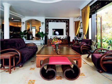 Những mẫu phòng khách đẹp sang trọng mẫu 2
