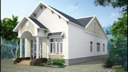 mẫu nhà mái thái ở nông thôn M1