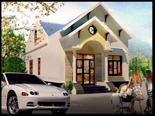 Tổng quan kiến trúc mẫu nhà cấp 4 mái thái đẹp.