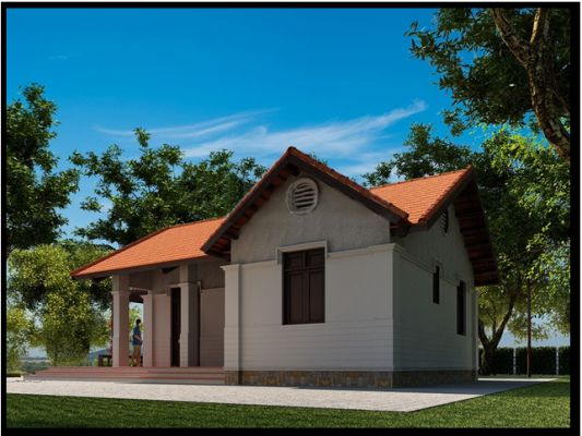 kiến trúc Tân Cổ giao duyên.