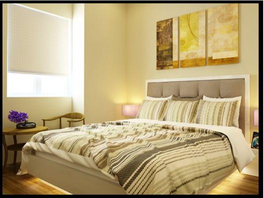 Phòng ngủ đẹp, rộng rãi.