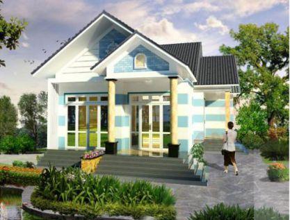 Mẫu nhà mái thái đẹp hút hồn được nhiều gia đình ưu chuông H3