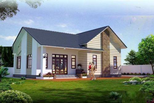 Mẫu nhà mái thái đẹp hút hồn được nhiều gia đình ưu chuông H5