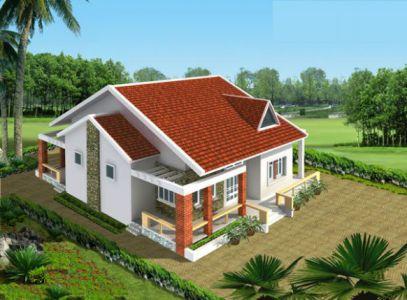 mẫu nhà nông thôn hiện đại nhất Việt Nam thiết kế 5
