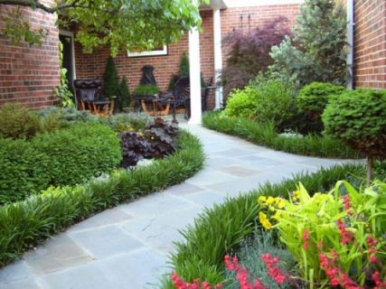 mẫu nhà phố có sân vườn hiện đại thiết kế 2
