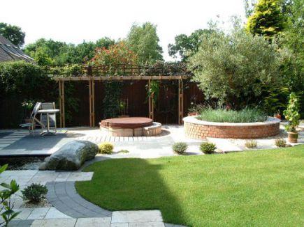 mẫu nhà phố có sân vườn hiện đại thiết kế 6