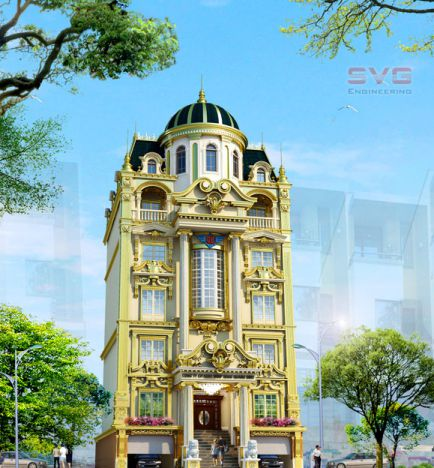 mẫu biệt thự đẹp cổ điển hiện đại nhất hiện nay