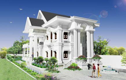 biệt thự đẹp tinh tế cổ điển nhất