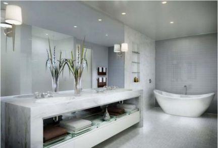 Mẫu phòng tắm lung linh nhất H12
