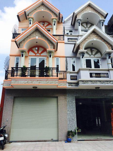 Kiến trúc nhà 2 tầng hiện đại.