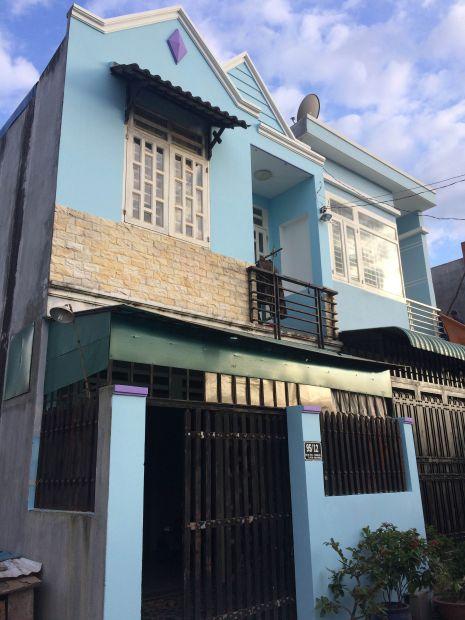 Nhà sử dụng màu xanh tươi mát.
