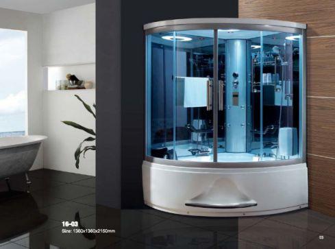 Mẫu phòng tắm sông hơi hiện đại H2