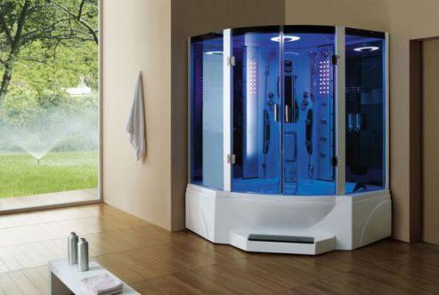 Mẫu phòng tắm sông hơi hiện đại H4