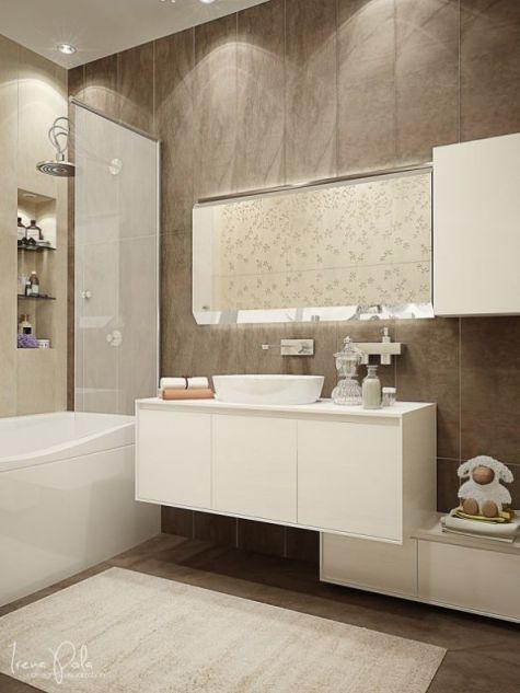 Mẫu phòng tắm dành cho chung cư đẹp M1