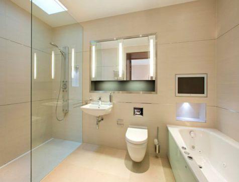 Mẫu phòng tắm dành cho chung cư đẹp M2