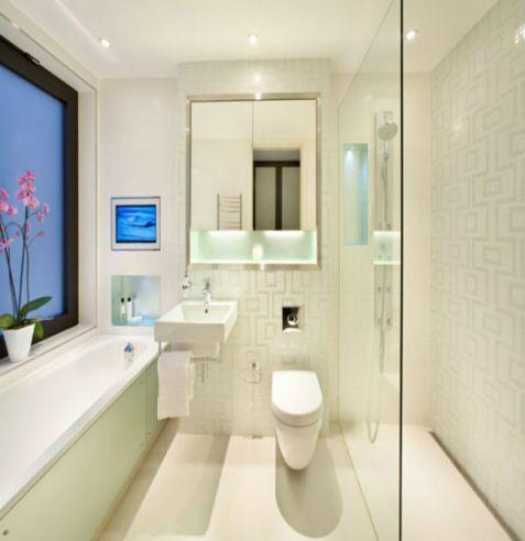 Mẫu phòng tắm dành cho chung cư đẹp M3