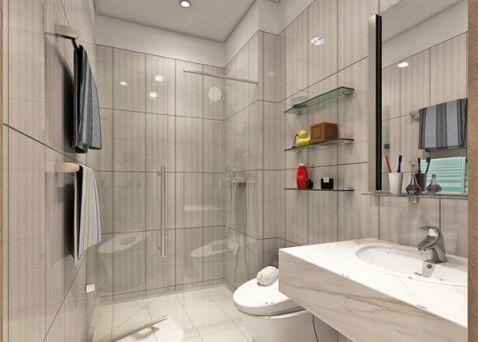 Mẫu phòng tắm dành cho chung cư đẹp M4