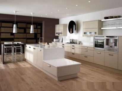 Mẫu nhà bếp hiện đại kiểu dáng mới lạ M2