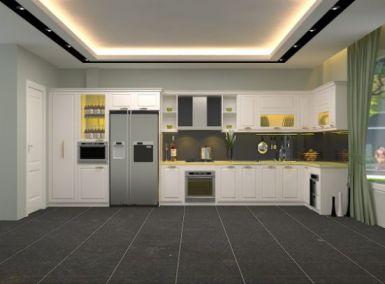 Mẫu nhà bếp hiện đại kiểu dáng mới lạ M5