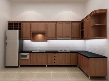 Mẫu nội thất nhà bếp hiện đại H1