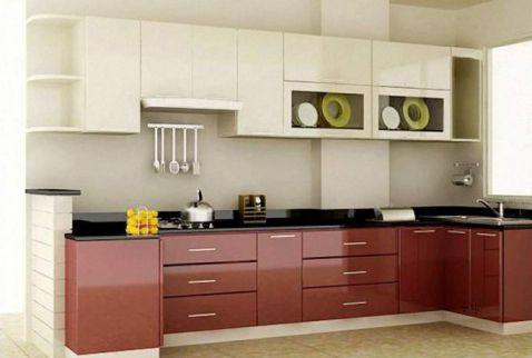 Mẫu nội thất nhà bếp hiện đại H2