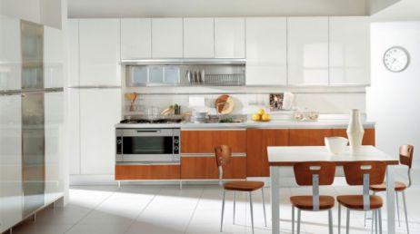 Mẫu nội thất nhà bếp hiện đại H4
