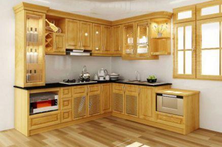 Mẫu nội thất nhà bếp hiện đại H6