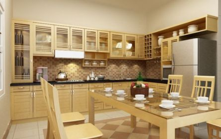 Mẫu nội thất nhà bếp hiện đại H7