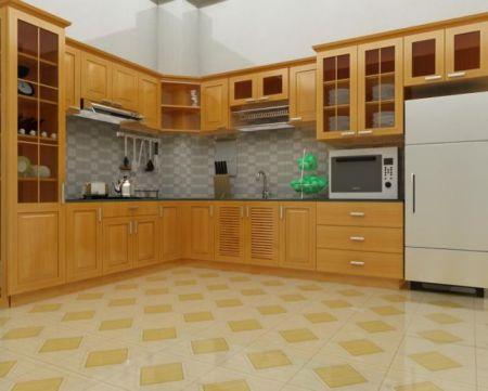 Mẫu nội thất nhà bếp hiện đại H8