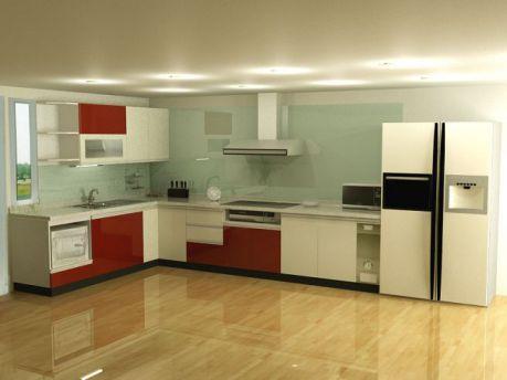 Mẫu nội thất nhà bếp hiện đại H9