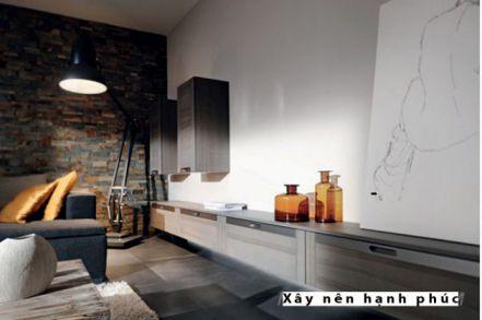 mẫu nội thất nhà bếp với tù gỗ inox hiện đại thiết kế 5