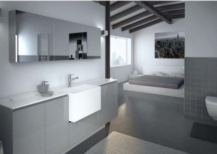 mẫu phòng tắm phù hợp với mọi không gian H14