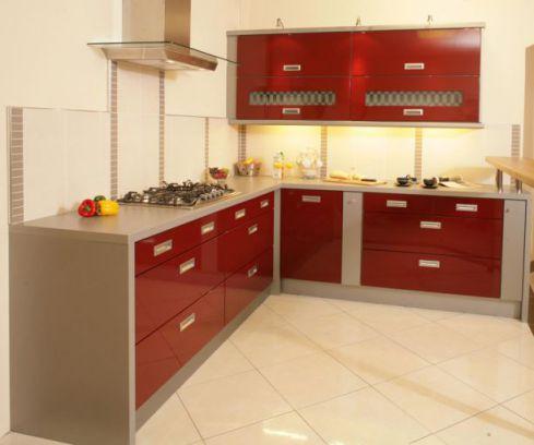 Mẫu nhà bếp dành cho chung cư hiện đại H3
