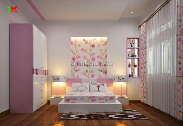 mẫu phòng ngủ đớn gián nhất việt nam thiết kế 6