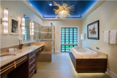 Mẫu phòng tắm có đèn LED H1