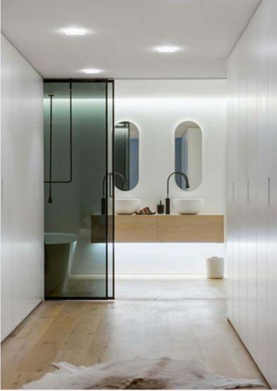 Mẫu phòng tắm có đèn LED H3