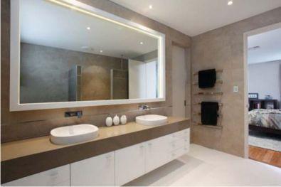 Mẫu phòng tắm có đèn LED 4