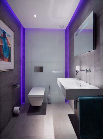 Mẫu phòng tắm có đèn LED H6