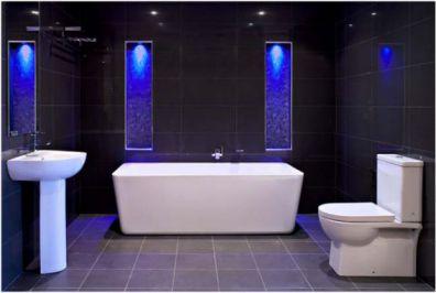 Mẫu phòng tắm có đèn LED 8