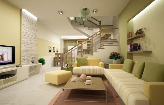 Mẫu phòng khách với diện tích nhỏ.H3